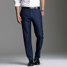 Navy suit pants by J. Cashmere Suit, Italian Leather Shoes, J Crew Men, Tailored Suits, Perfect Man, To My Future Husband, Style Me, Suit Pants, Denim