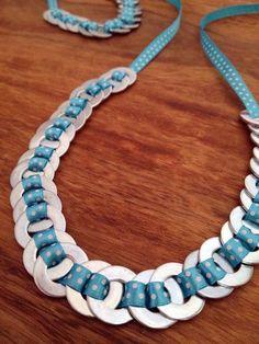 Os dije que tendría collar nuevo y han sido collar y pulsera!   ¿Qué os parece? diy necklace