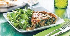 Quiche de legumes com alcachofras - Receitas | Pingo Doce