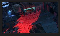 Novas artes na galeria de Gravity Falls, agora por Paul Tuo Tsi | THECAB - The Concept Art Blog