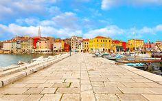 Photo about Old Istrian town in ROVINJ, Croatia. Image of croatian, istra, istria - 28592139 Dubrovnik, Visit Croatia, Croatia Travel, Montenegro, Travel Around The World, Around The Worlds, Trieste, Carpe Diem, Where To Go