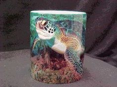 Ocean Sea Turtle coffee mug, just $14.95 Watch as the Sea Turtle appears like magic on the coffee mug!  The mug transforms from a black color to the brilliant picture of the turtle when any warm drink is poured into it! See it  here http://www.ebay.com/itm/Ocean-Sea-Turtle-11-oz-Color-Change-Coffee-Mug-Tea-Cup-Magic-Morph-/120893534386?pt=LH_DefaultDomain_0=item1c25d0f0b2#ht_811wt_1014