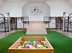 Pet Hotels in Prague Outdoor Dog Runs, Indoor Dog Park, Daycare Business Plan, Dog Kennel Designs, Puppy Room, Dog Playground, Dog School, Pet Hotel, Pet Boarding