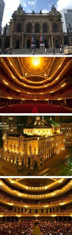 Teatro Municipal de São Paulo, Brazil - São Paulo Opera House