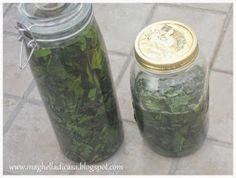 Come avevo raccontato QUI , qualche settimana fa ho raccolto dell'alloro dal giardino di mia mamma. Ho deciso di utilizzarlo per la re...