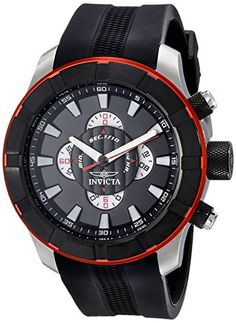 Men's Wrist Watches - Invicta Mens 18610 S1 Rally Analog Display Japanese Quartz Black Watch ** Click image for more details. (This is an Amazon affiliate link)