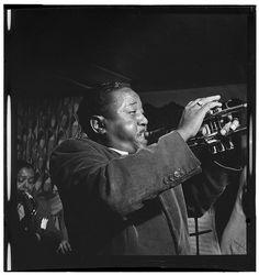 Roy Eldridge, Spotlite (Club), New York, N.Y., ca. Nov. 1946 Jazz Artists, Jazz Musicians, Great Artists, Roy Eldridge, Jazz Trumpet, Trumpet Players, Him Band, Library Of Congress, Black History