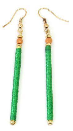 #green #earring #barcelona #borne