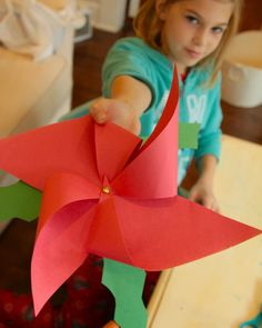 whatever: christmas craft week 3d poinsettia