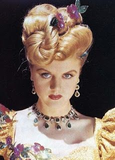 Angela Lansbury in The Harvey Girls wearing Joseff Hollywood Jewelry