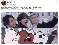 Foto Bts, Bts Photo, Bts Memes Hilarious, Bts Funny Videos, K-pop Music, Jung Kook, Bts New, K Pop, V Chibi