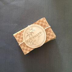 25 Handmade Handcut Almond Soap with Honey Shea by KayaSoaps