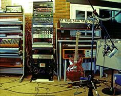 Tycho and his epic studio - iheartsynths.com