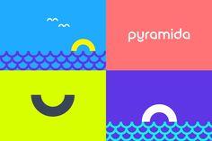 New Logo and Identity for Pyramida by Reynolds & Reyner