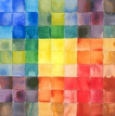 color wheel squares