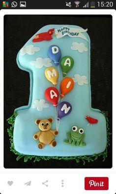 Erster Geburtstag Torte