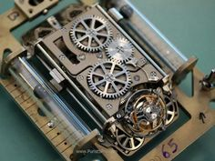 Christophe Claret X-Trem 1 in production