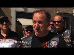 Miles de Harley-Davidson se concentran en el Vaticano para celebrar su 110 aniversario