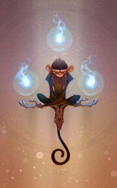 Frostfire Monkey by ...