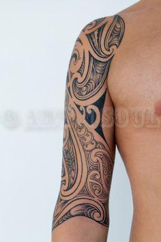 Tamoko Half Sleeve Tattoo