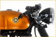 Doc. Chuletas de Yamaha Virago Cafe Racer ~ Vuelta de los Corredores del café