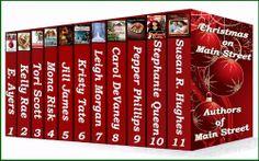 Christmas on Main Street  by Multiple Authors #ChristmasMainStreet   This box set of 11 Christmas stories   http://www.faithfulreads.com/2013/11/tuesdays-christian-kindle-books-early_19.html