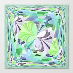 Re-Created ButterfliesXXIII  #Stretched #Canvas by #Robert #S. #Lee - $85.00