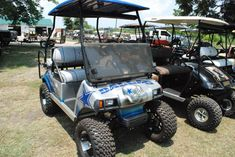 Dallas Cowboys - Custom Golf Cart Design | Golf Cart Repair | Custom Golf ...