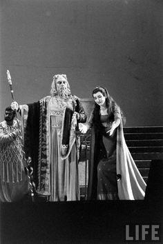Maria Callas by Thomas McAvoy in Médée by Luigi Cherubini, 1958