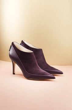 e1ebd95bf1a Booties with a pointed toe and a stilleto heel from ESCADA F W 2013 -
