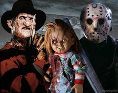 Freddy,chucky,Jason