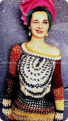 handmade sweater by mevame