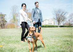 Philadelphia Engagement Session + Couple with dog