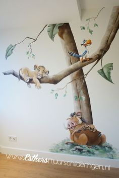 Lion King Nursery, Nursery Pictures, Cute Creatures, Disney Drawings, Baby Crafts, Future Baby, Wall Murals, Baby Room, Children