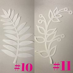 These leaf cutouts sold by the dozen are the perfect addition for any flower backdrop! *SIZES* Approximately 11 *CUSTOM ORDERS* -Need a t… Paper Flower Patterns, Paper Flower Decor, Paper Flower Backdrop, Giant Paper Flowers, Flower Decorations, Cardboard Paper, Diy Paper, Paper Crafts, Leaf Template