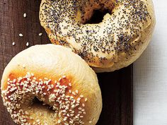 Real Bagels   If you grew up on factory bagels, these are a chewy revelation. Omit barley malt syrup from the recipe if you can't find it.