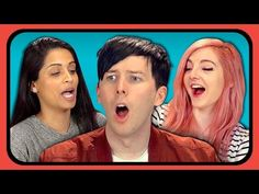 YouTubers React to Try to Watch This Without Laughing or Grinning #3 - YouTube