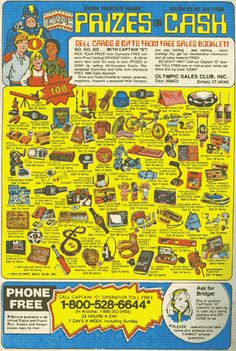 Comic Book ad - this ad was everywhere when I was a kid!