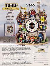 2005 magazine ad M&Ms CHOCOLATE FACTORY mms M&M Danbury Mint advertisement print
