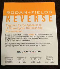 Rodan & Fields REVERSE REGIMEN New In Box ORIGINALLY $190 Now $160  #RodanFields http://www.ebay.com/itm/-/142124250433?roken=cUgayN