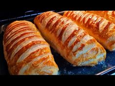 AKŞAMDAN HAZIRLA SABAH PİŞİR✅O kadar güzel oldu ki tadına doyamadık diyebilirim 😍 - YouTube Cool Inventions, Turkish Recipes, Hot Dog Buns, Food Dishes, Food And Drink, Snacks, Pizza, Yogurt, Food