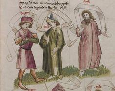Thomasin <Circlaere>   Welscher Gast (a) Schwaben, um 1460-1470 Cod. Pal. germ. 320 Folio 8r