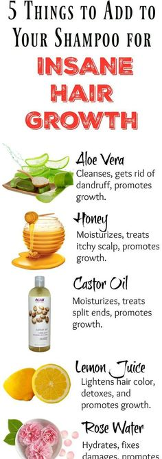 Adding any one of these 5 ingredients to your shampoo bottle will ensure fast growing, healthy hair in no time! Adding any one of these 5 ingredients to your shampoo bottle will ensure fast growing, healthy hair in no time! Pelo Natural, Natural Hair Tips, Natural Hair Styles, Long Hair Styles, Natural Beauty, Natural Makeup, Natural Skin, Natural Shampoo, Organic Makeup