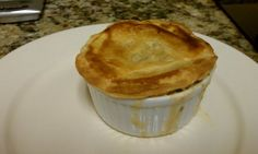 Seafood Pot Pie Recipe | TEXGIRLY via @SparkPeople (if making this gluten free you would need to use a pre-made gluten free pie crust or make one from scratch. Also, substitute corn starch or gf flour in the filling)