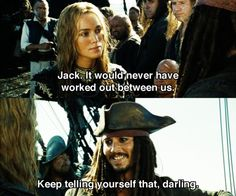 I think he came closer to loving her than anyone since Angelica (Blackbeard's daughter)