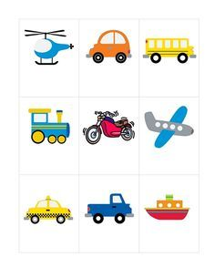 Transportation Printable for Preschool - Toddler Learning Activities, Infant Activities, Preschool Activities, Transportation Theme Preschool, Nametags For Kids, Fun Worksheets For Kids, Felt Books, Name Stickers, Memory Games