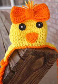 Newborn Chick Hat