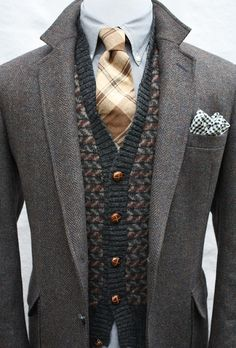 Cool Stuff We Like Here @ CoolPile.com -------  ------- Mens Vintage 100 Pure Wool Tweed Sport Coat by ViVifyVintage