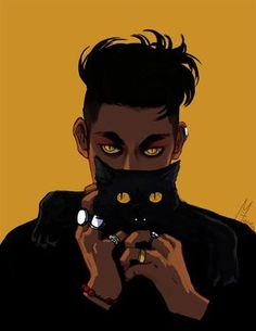 Magnus and Chairman Meow