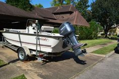 20 feet  2008 Bay Craft Cape Craft Bay Boat , White, 50 hours for sale in Houston, TX